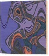 Shirley Maclaine's Grasshopper Phase Wood Print
