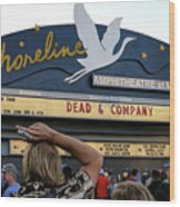 Shoreline Amphitheatre - Dead And Company Wood Print