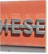 Side Badge Wood Print