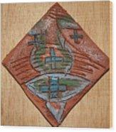 Silence - Tile Wood Print