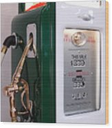 Sinclair Gas Pump Wood Print