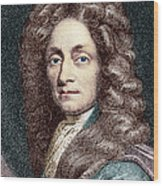 Sir Christopher Wren, Architect Wood Print