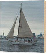 Skipjack Wood Print