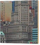 Skyline Of Manhattan - New York City Wood Print