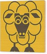 Sleep-sheep - Lonvig By Minymo Wood Print