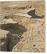 Soil Erosion Wood Print