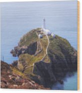 South Stack - Wales Wood Print