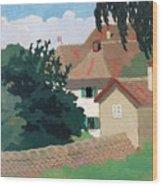 Souvenir De Romanel Wood Print