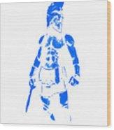 Spartan Hero Wood Print