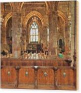 St Giles' Cathedral, Edinburgh Wood Print