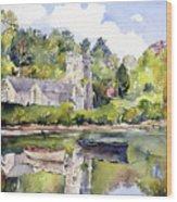 St Just In Roseland Church Wood Print
