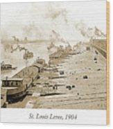 St. Louis Levee, 1904 Wood Print