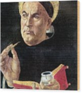 St. Thomas Aquinas Wood Print