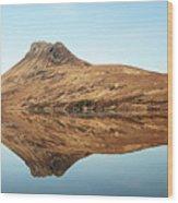 Stac Pollaidh Wood Print