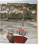 Staithes, North Yorkshire, England Wood Print