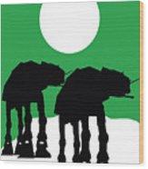 Star Wars At-at Collection Wood Print
