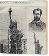 Statue Of Liberty, 1885 Wood Print