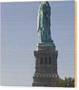 Statue Of Liberty. Wood Print