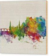 Stirling Scotland Skyline Wood Print