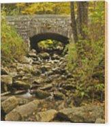Stone Bridge 6063 Wood Print