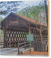 Stone Mountain Park In Atlanta Georgia Wood Print