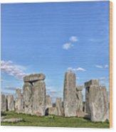 Stonehenge - England Wood Print