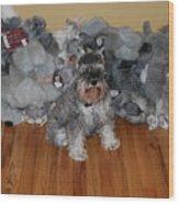 Stuffed Animals Wood Print
