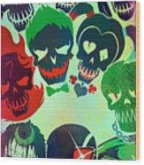 Suicide Squad 2016 Wood Print