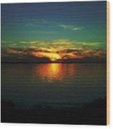 Sunset Wood Print