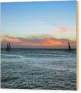 Sunset Key West  Wood Print