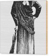 Susan B. Anthony (1820-1906) Wood Print