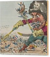 Swallow Destroying The French Army, Wood Print
