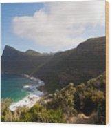 Table Mountain National Park Wood Print