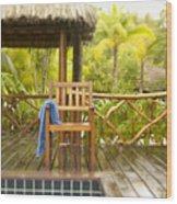 Tahiti Bora Bora Wood Print