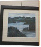 Tenn River At Spring City Tn Wood Print