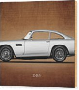 The Aston Martin Db5 Wood Print