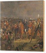 The Battle Of Waterloo Wood Print