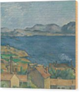 The Bay Of Marseilles Wood Print
