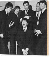 The Beatles, 1964 Wood Print