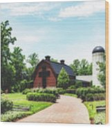 The Billy Graham Library Wood Print