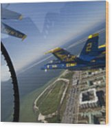 the Blue Angels Wood Print