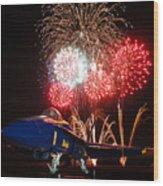 the Blue Angels US Navy    Wood Print
