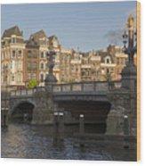 The Bridges Of Amsterdam Wood Print