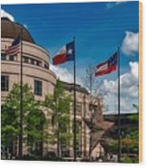The Bullock Texas State History Museum Wood Print