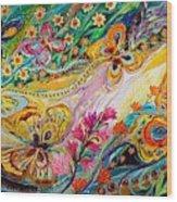 The Dance Of Butterflies Wood Print