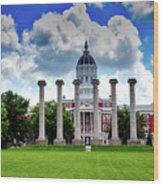 The Francis Quadrangle - University Of Missouri Wood Print