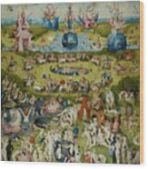 The Garden Of Earthly Delights Wood Print