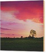 The Holy Tree Wood Print