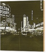 The Las Vegas Strip Wood Print