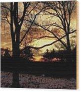 The Last Waltz Wood Print